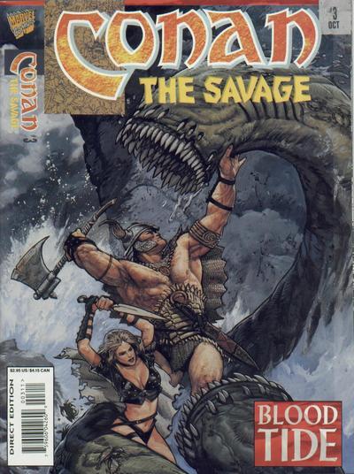 Conan the Savage Vol 1 3