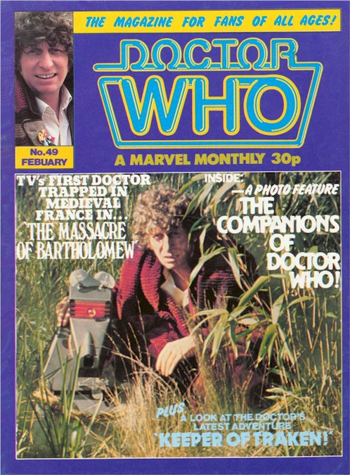 Doctor Who Monthly Vol 1 49