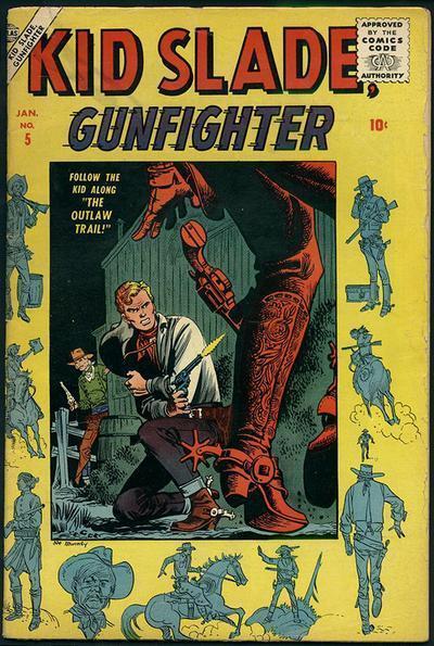 Kid Slade, Gunfighter Vol 1