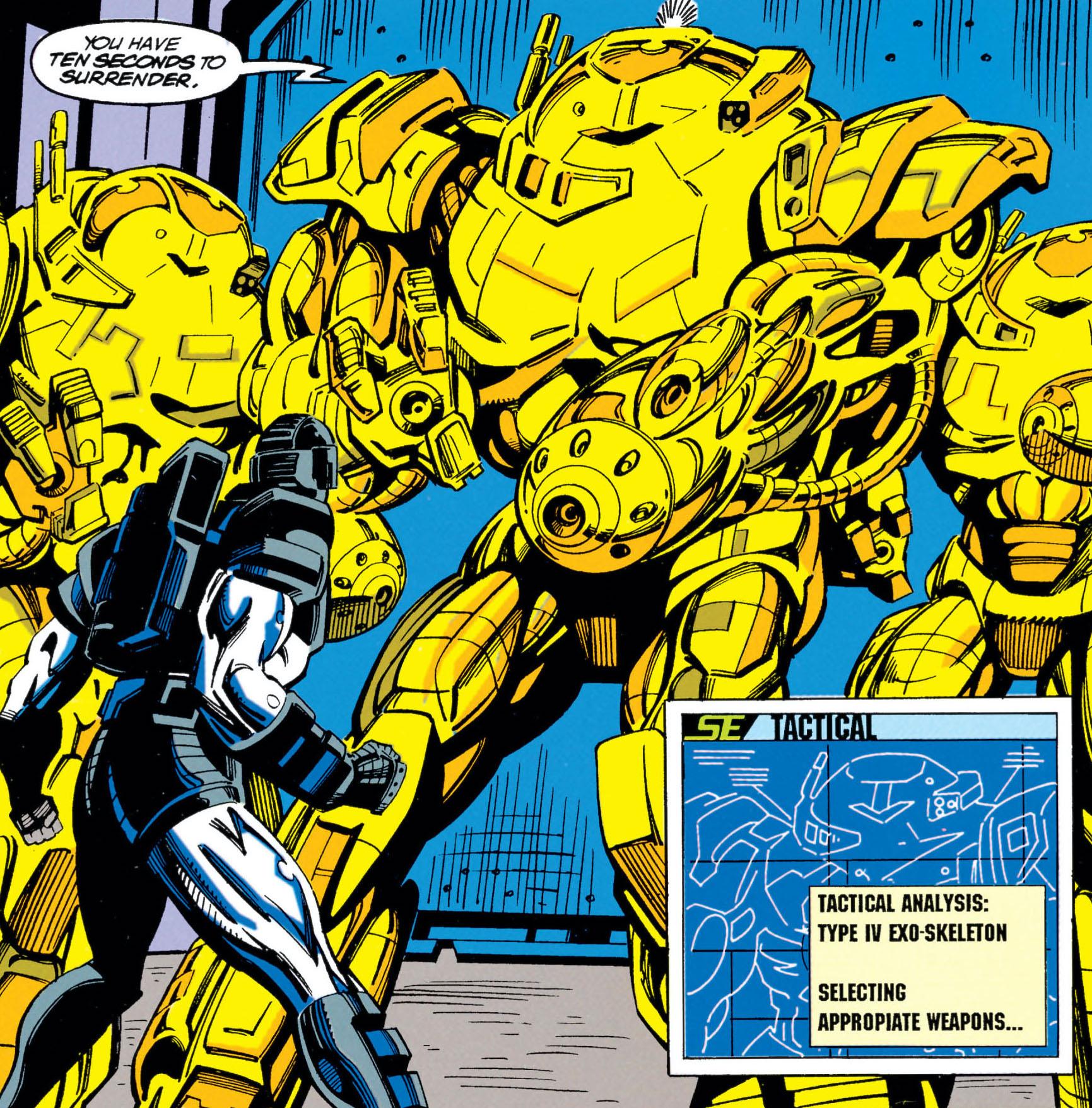 Mandroid Armor MK IV/Gallery
