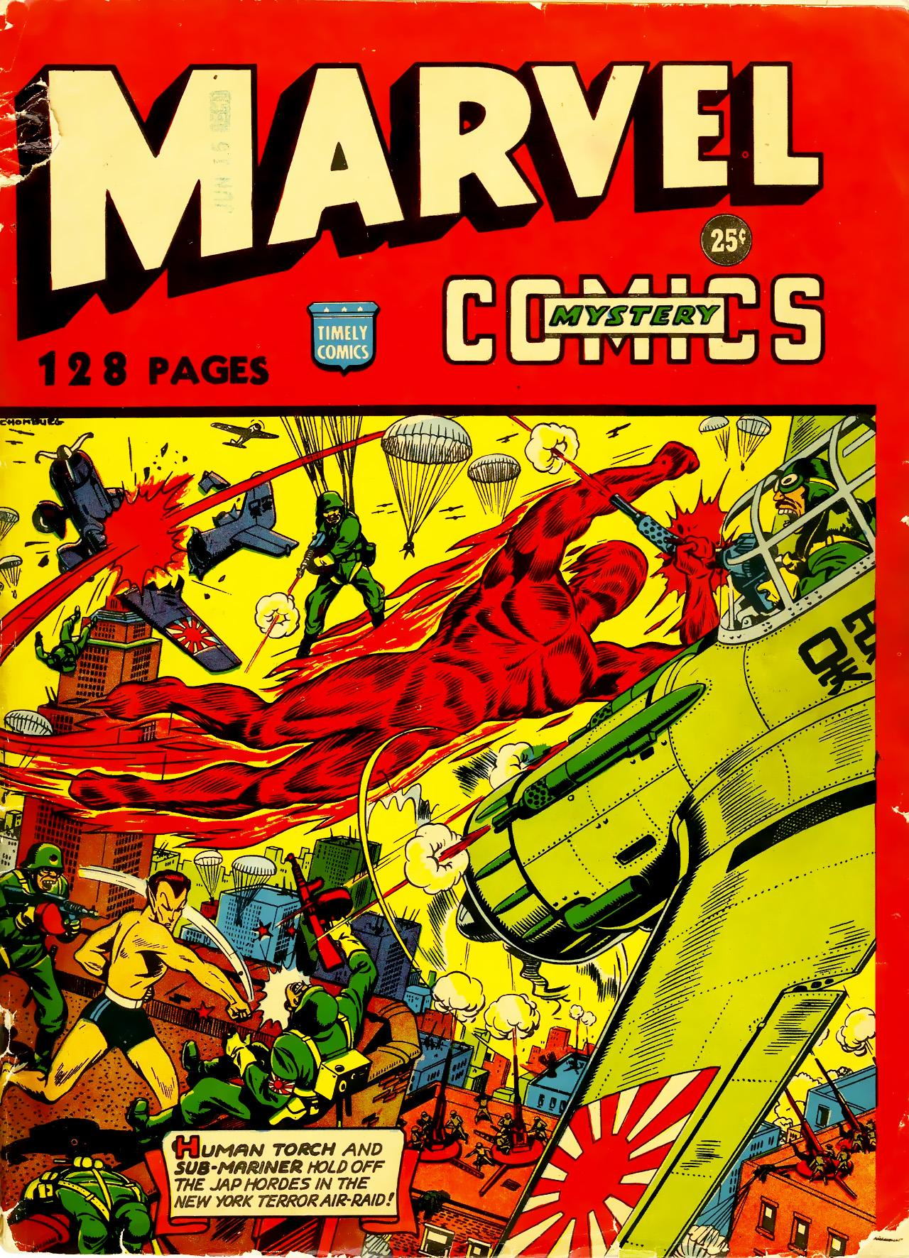 Marvel Mystery Comics Vol 1 NN