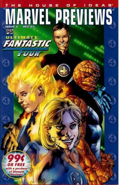 Marvel Previews Vol 1 2