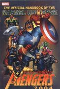 Official Handbook of the Marvel Universe Avengers 2004 Vol 1 1