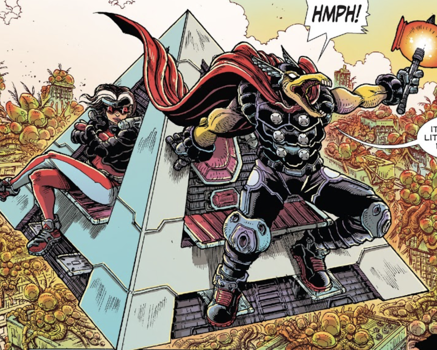 Quinjet from 100th Anniversary Special - Avengers Vol 1 1 001.png