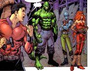 Unus' Gang (Earth-616) from Excalibur Vol 3 1 001