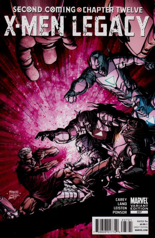 X-Men Legacy Vol 1 237 Variant Finch.jpg