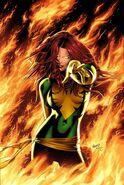 X-Men Phoenix Endsong Vol 1 1 Variant Green Textless