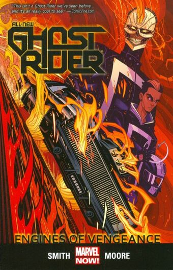 All New Ghost Rider Tpb Vol 1 1 Engines Of Vengence Marvel Database Fandom Vengeance definition, infliction of injury, harm, humiliation, or the like, on a person by another who has been harmed by that person; all new ghost rider tpb vol 1 1