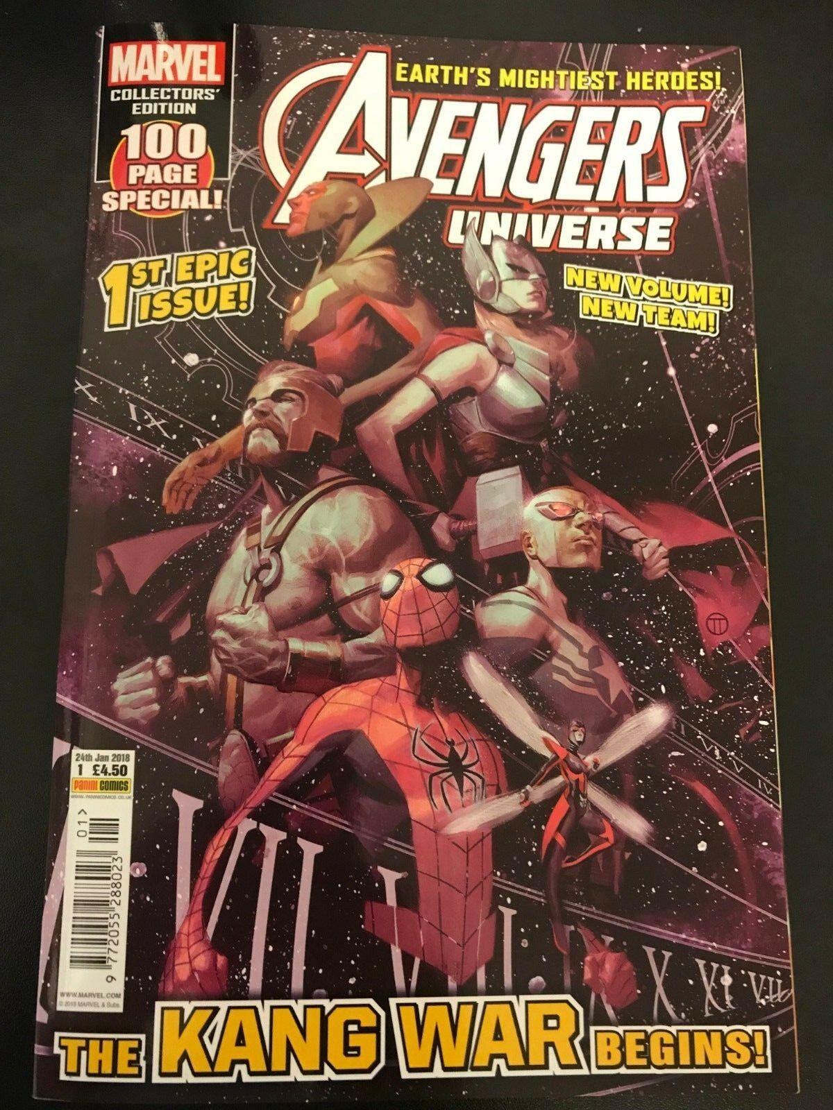 Avengers Universe (UK) Vol 3 1