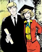 Brian Braddock (Earth-616) and Elizabeth Braddock (Earth-616) from Captain Britain Vol 2 1 0001
