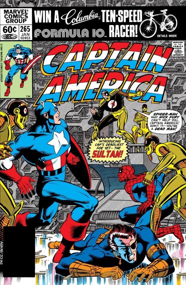 Captain America Vol 1 265