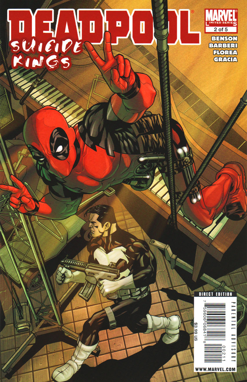 Deadpool: Suicide Kings Vol 1 2