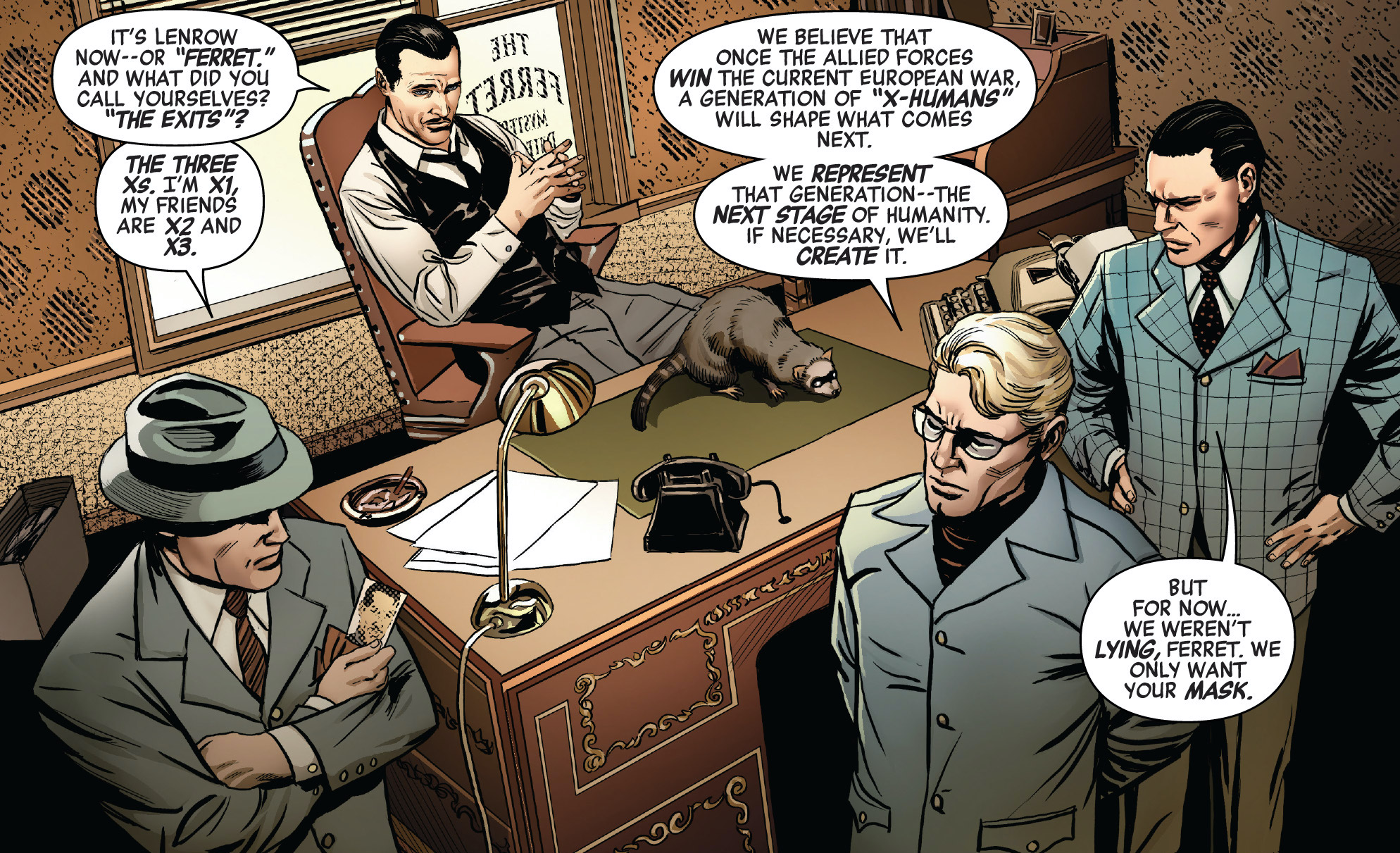 Dennis Piper (Earth-616) and Scientists Guild (Earth-616) from Marvel Comics Vol 1 1000 001.jpg