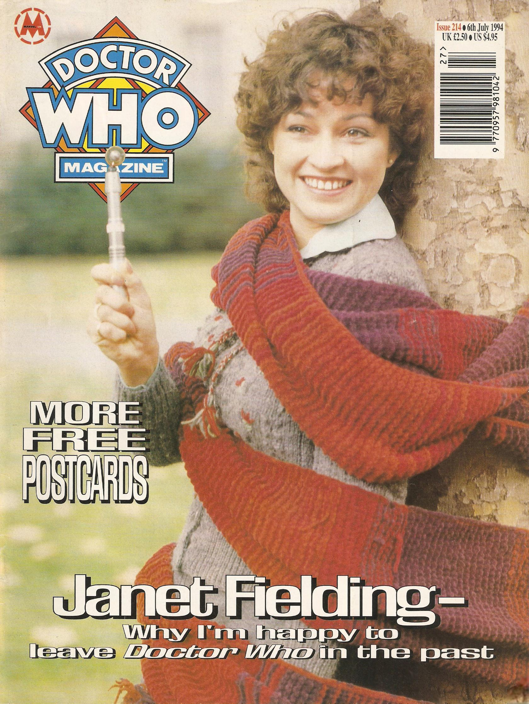 Doctor Who Magazine Vol 1 214