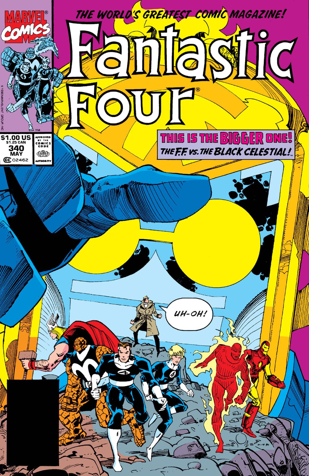 Fantastic Four Vol 1 340