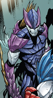 Hive (Poisons) (Earth-17952) Members-Poison Hawkeye from Venomverse Vol 1 2 001.png