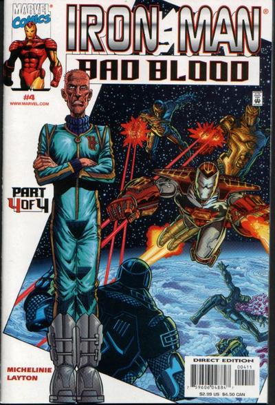 Iron Man: Bad Blood Vol 1 4