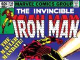 Iron Man Vol 1 156
