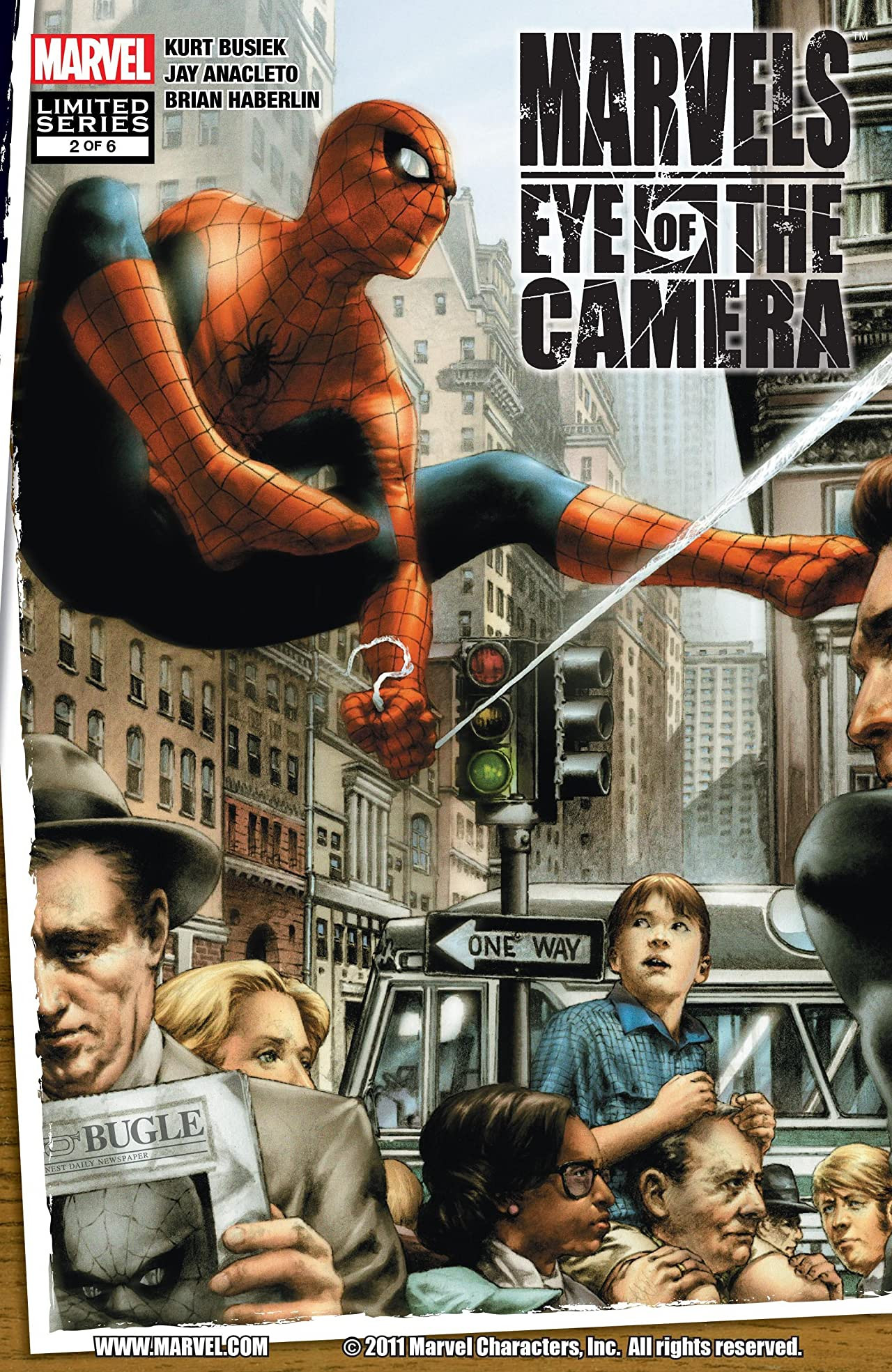 Marvels: Eye of the Camera Vol 1 2