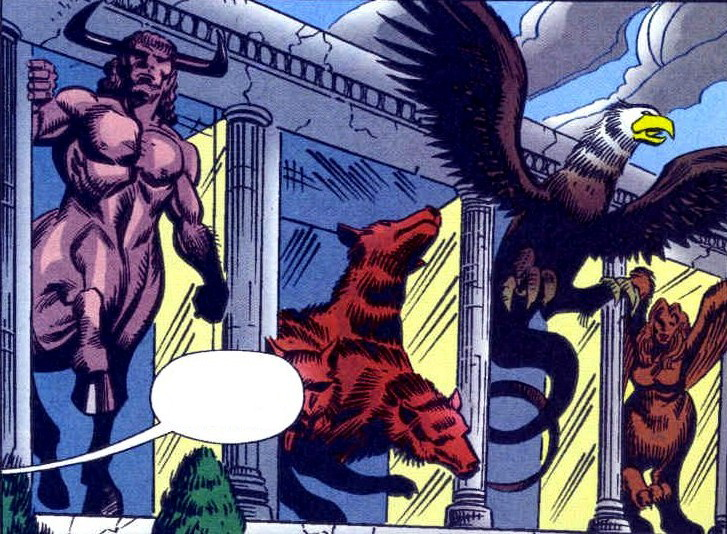 Menagerie of Myth (Earth-616)