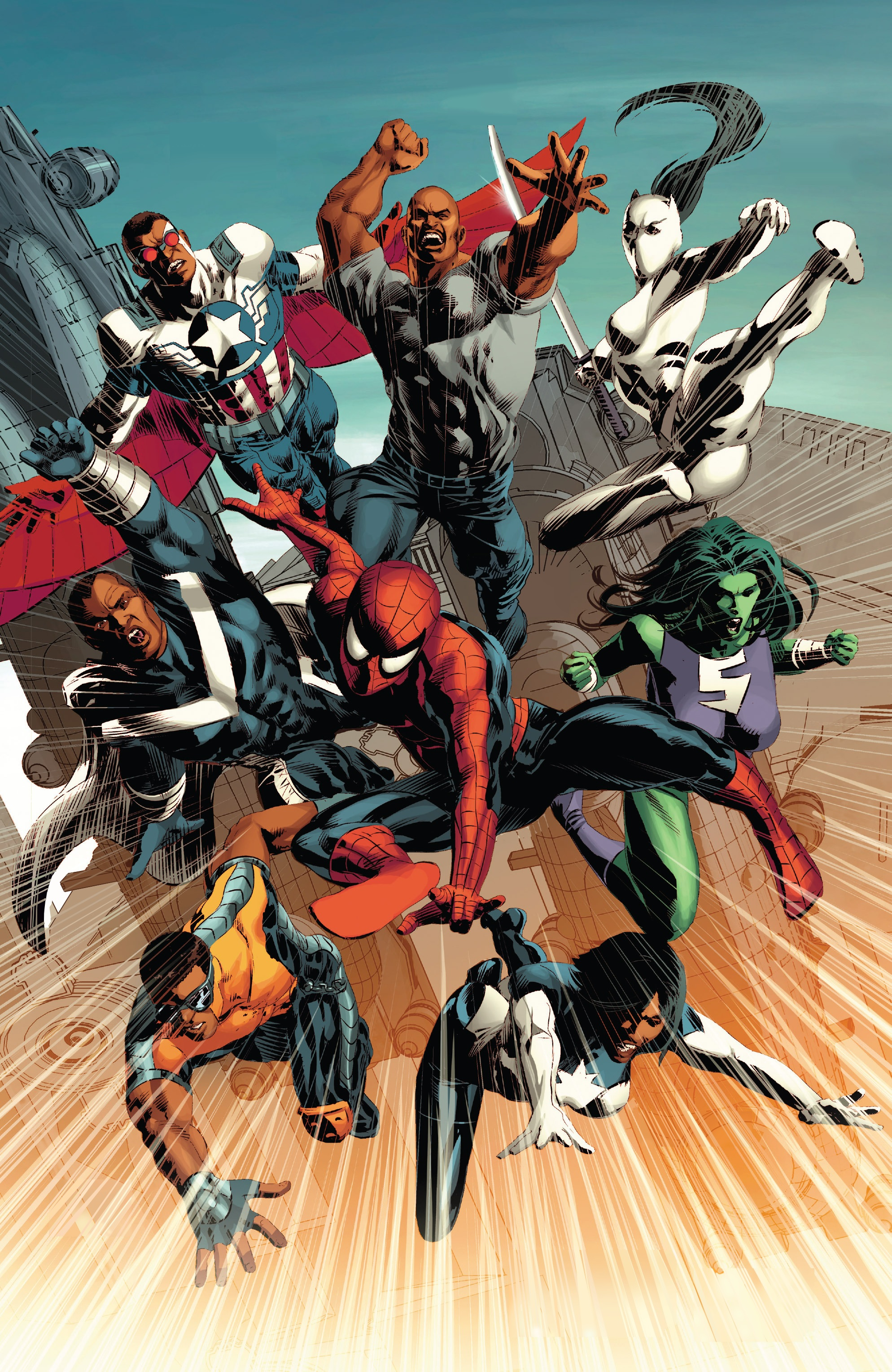 Mighty Avengers (Cage) (Earth-616)
