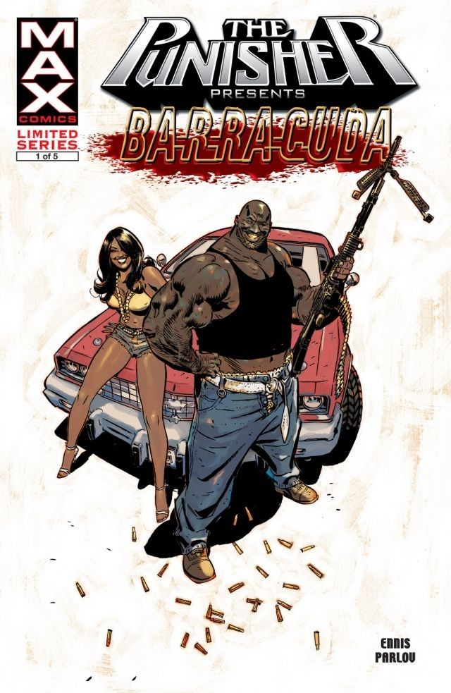 Punisher Presents Barracuda MAX Vol 1 1