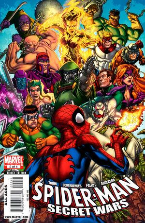 Spider-Man  the Secret Wars Vol 1 2jpg