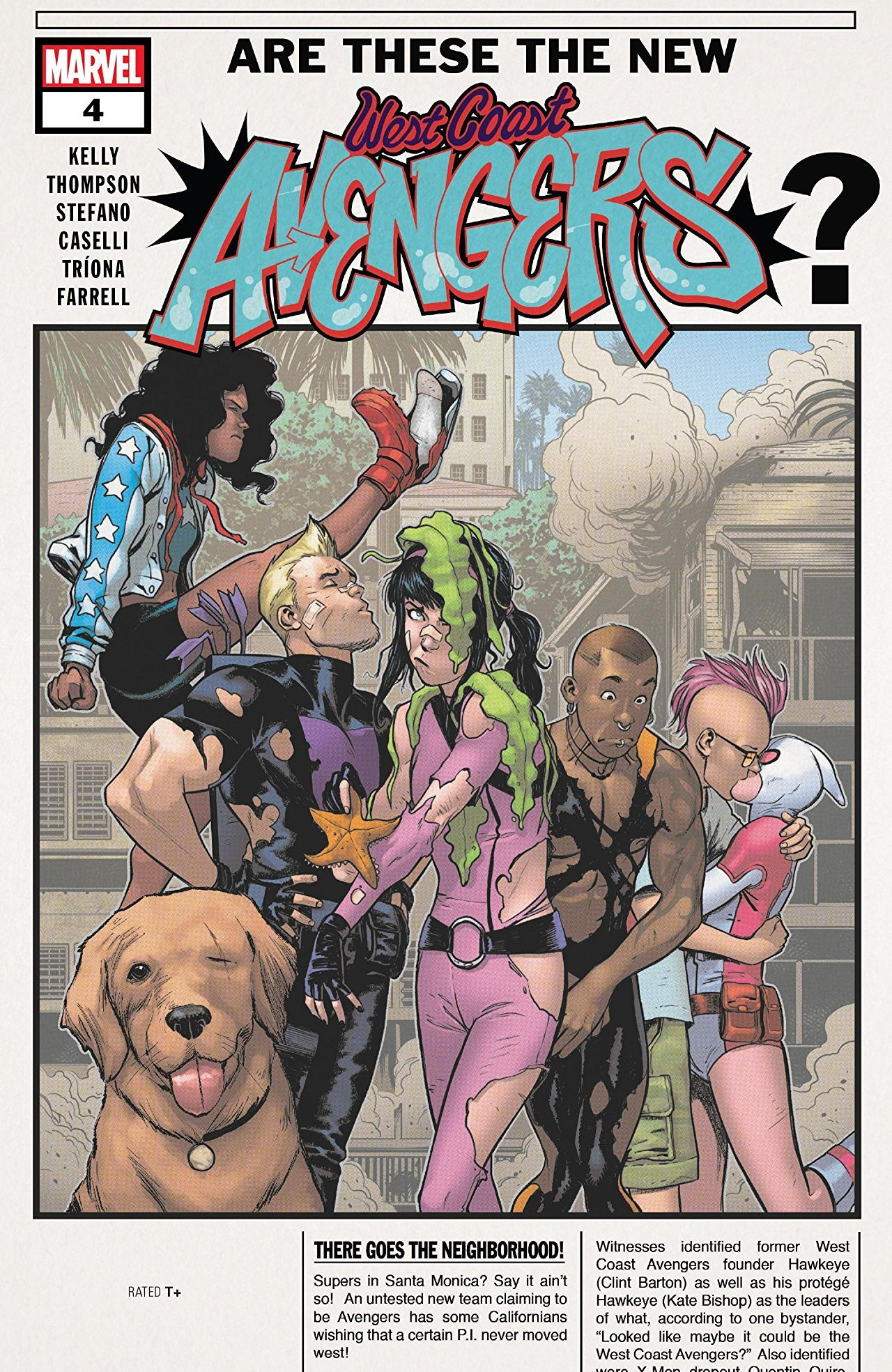 West Coast Avengers Vol 3 4