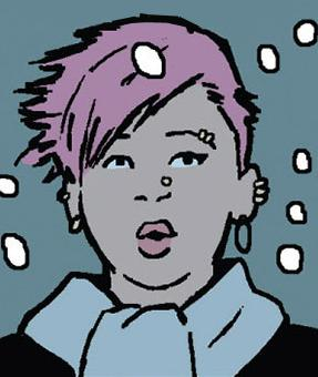 Aimee (Clint Barton's neighbor) (Earth-616)