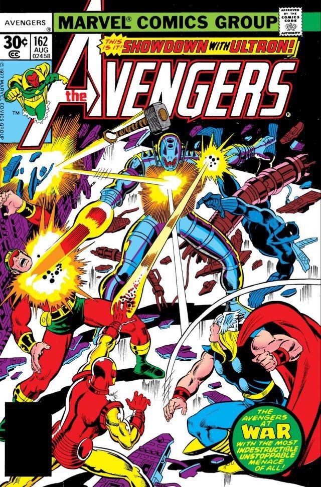 Avengers Vol 1 162