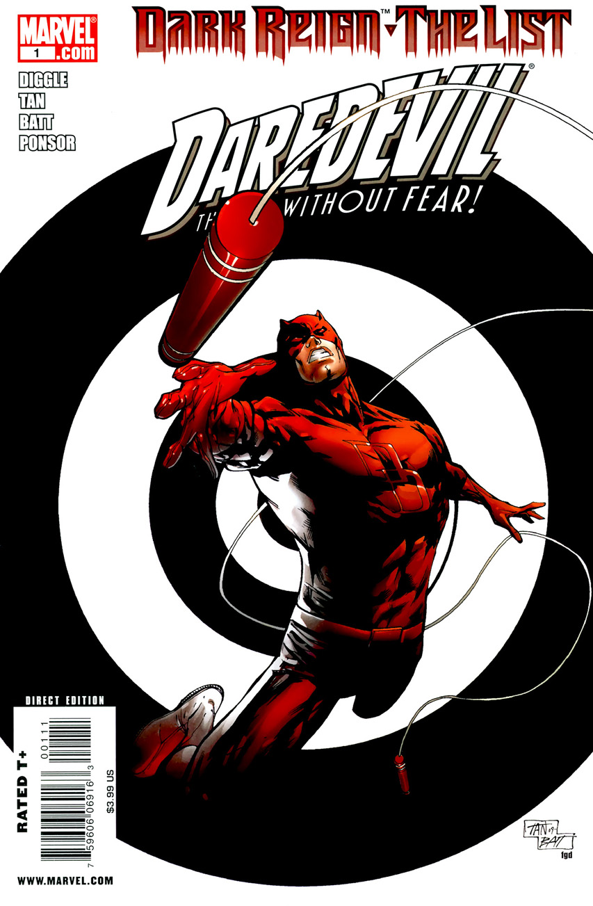 Dark Reign: The List - Daredevil Vol 1 1