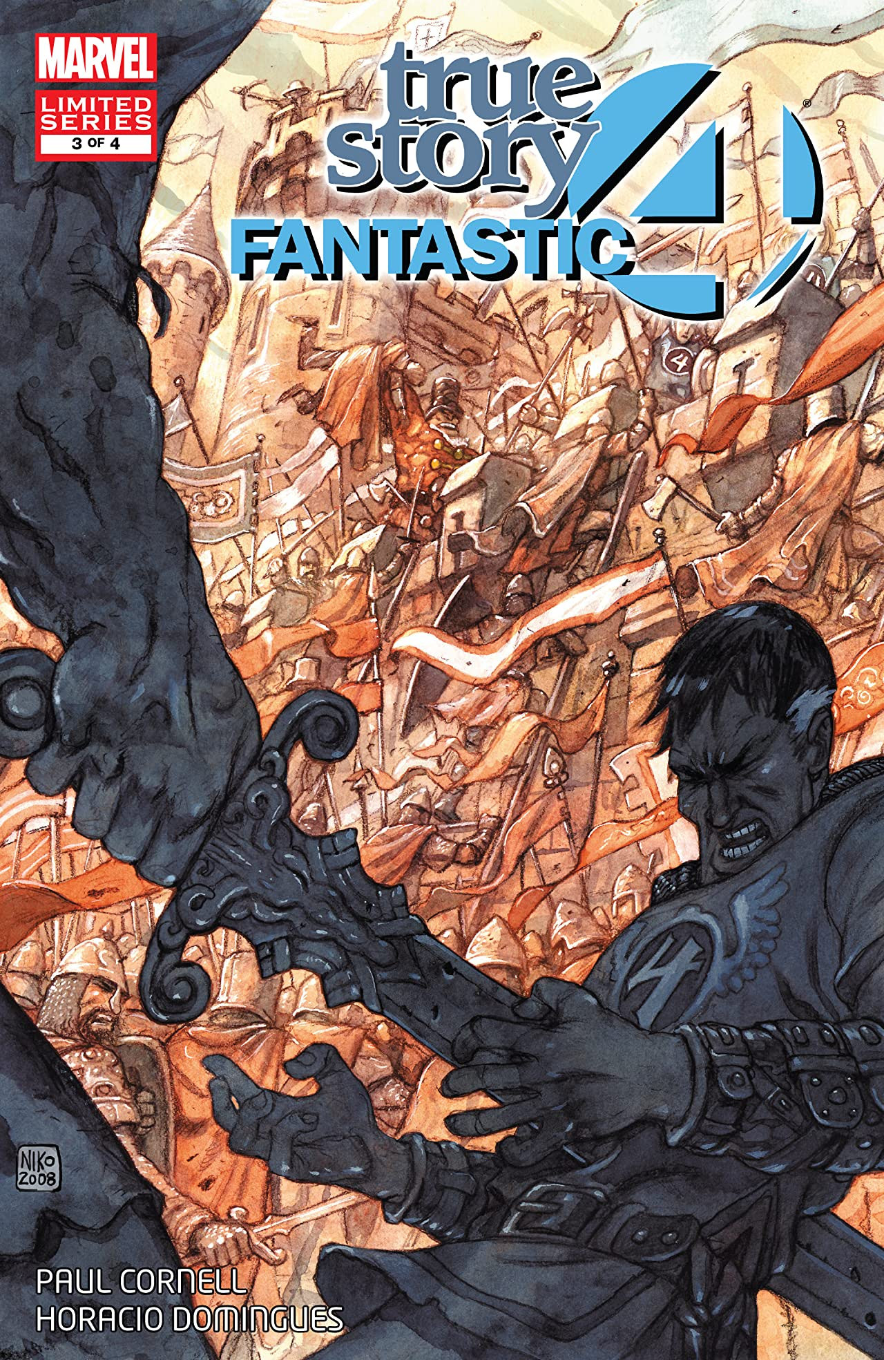 Fantastic Four: True Story Vol 1 3