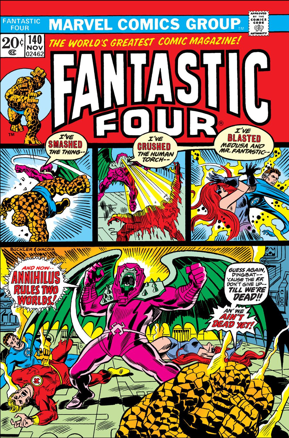 Fantastic Four Vol 1 140