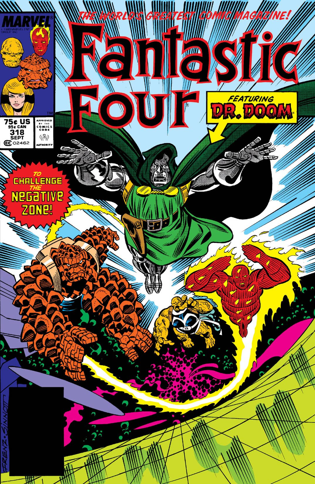 Fantastic Four Vol 1 318