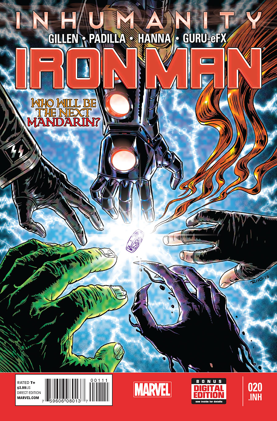 Iron Man Vol 5 20.INH