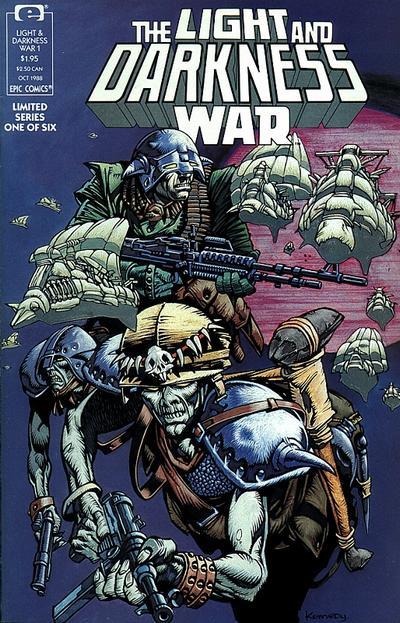 Light and Darkness War Vol 1 1