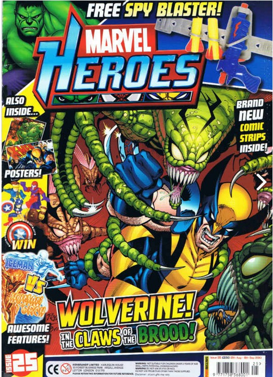 Marvel Heroes (UK) Vol 1 25