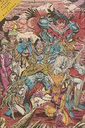 New Mutants Annual Vol 1 7 Pinup 1