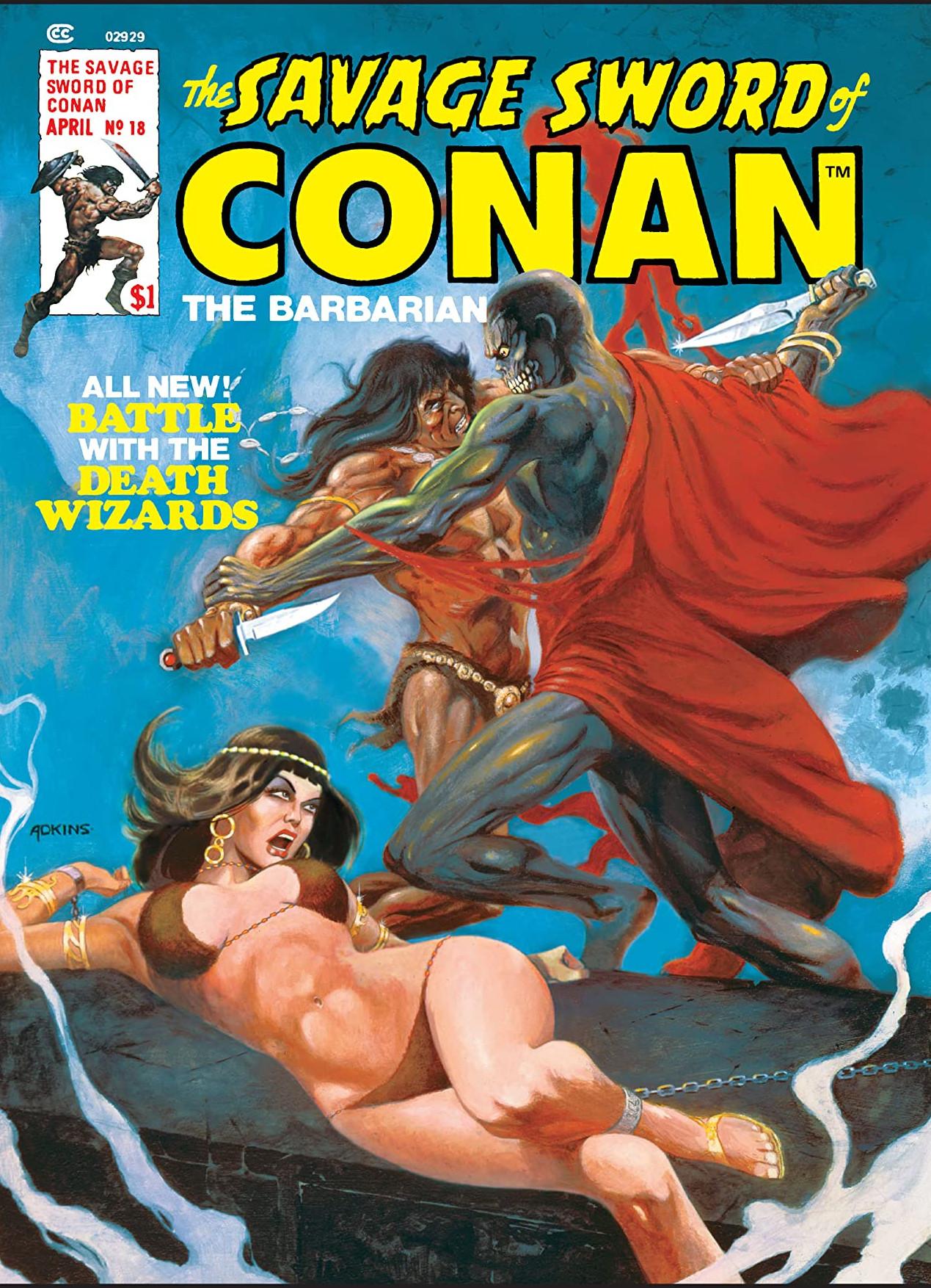 Savage Sword of Conan Vol 1 18
