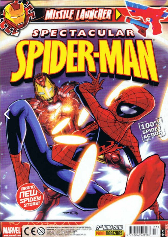 Spectacular Spider-Man (UK) Vol 1 203