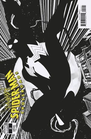 Symbiote Spider-Man Crossroads Vol 1 2 Baldeón Variant.jpg