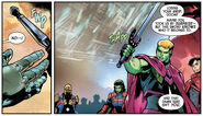 Theodore Altman (Earth-616) with Excelsior (Star-Sword) from Guardians of the Galaxy Vol 6 14 001
