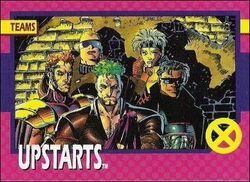 Upstarts (Earth-616) from X-Men 1992 Trading Cards 0001.jpg