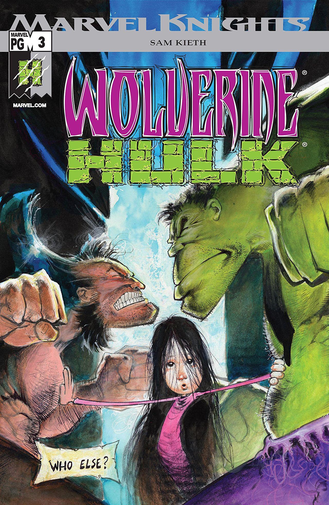 Wolverine/Hulk Vol 1 3