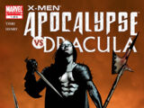 X-Men: Apocalypse vs. Dracula Vol 1 1