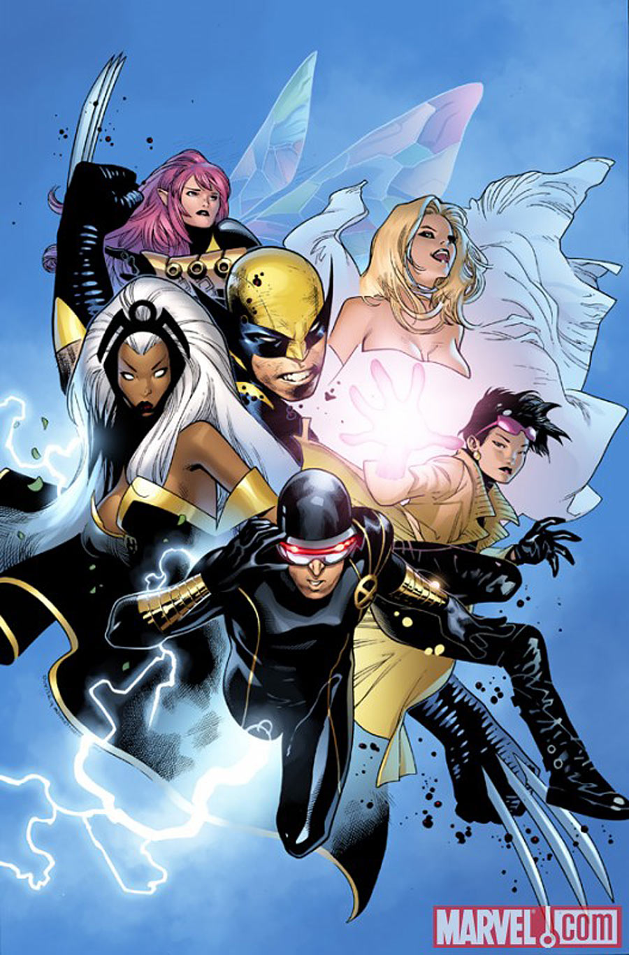 X-Men Vol 3 1 Olivier Coipel Variant Textless.jpg
