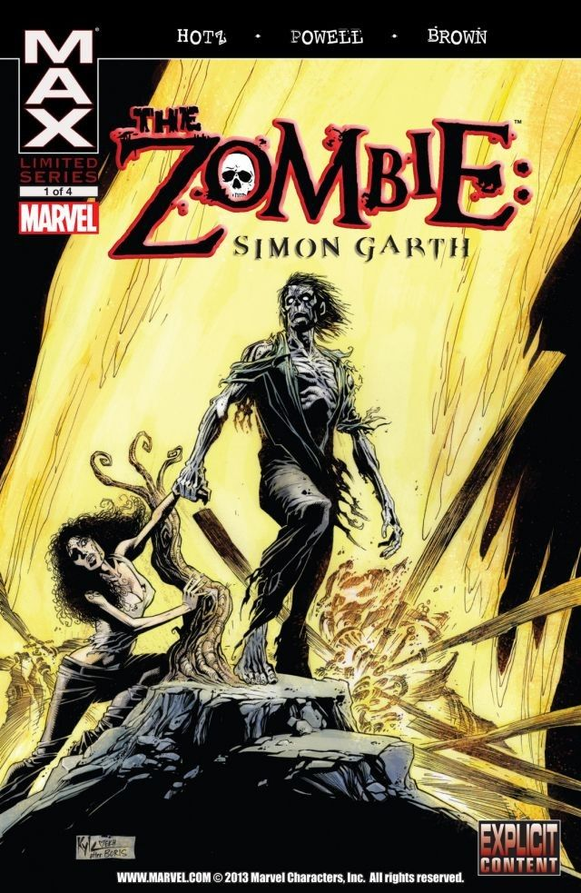Zombie: Simon Garth Vol 1 1