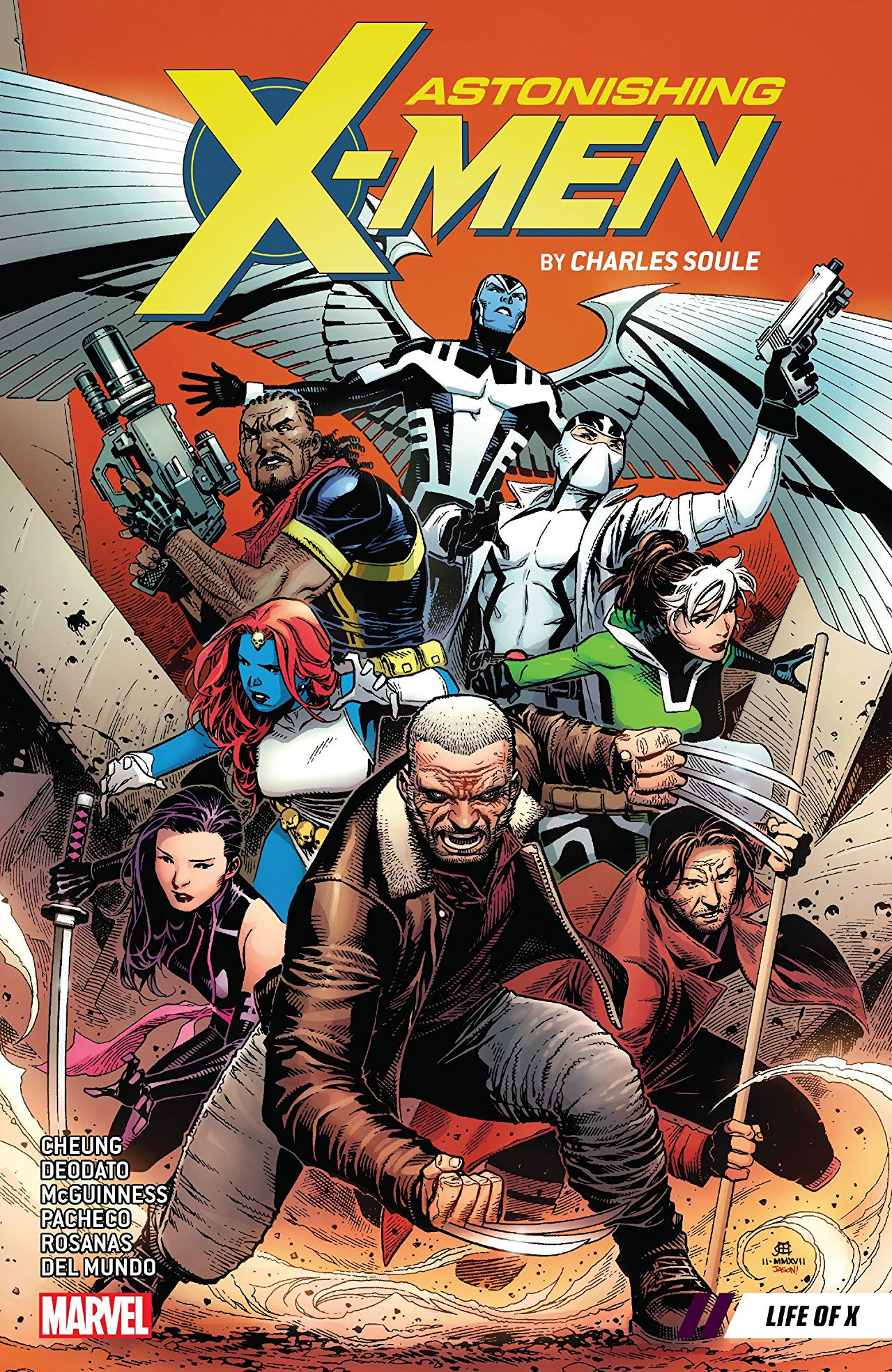 Astonishing X-Men by Charles Soule Vol 1 1: Life of X