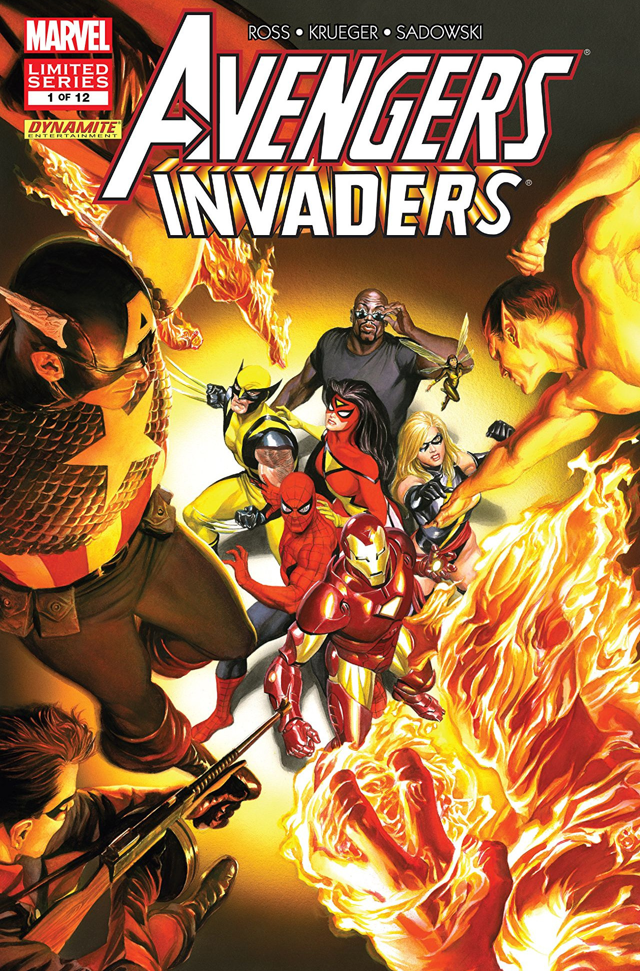 Avengers / Invaders Vol 1 1