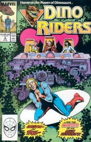 Dino Riders Vol 1 2